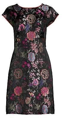 Etro Women's Floral Jacquard Sheath Dress