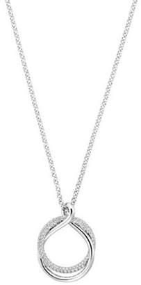 Swarovski Exact Crystal Overlap Pendant Necklace