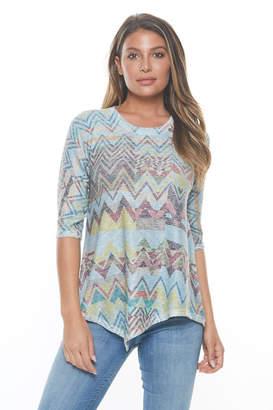Inoah Uneven Hem Sweater