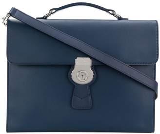 Burberry square design messenger bag
