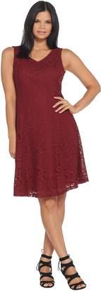 Joan Rivers Classics Collection Joan Rivers Regular Length Classic Lace Sleeveless Dress