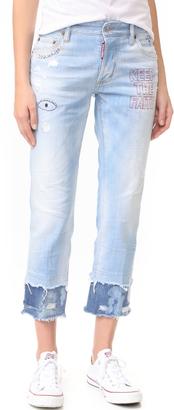 DSQUARED2 Boyfriend Jeans $640 thestylecure.com