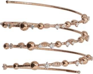 MATTIA CIELO Rugiada Three-Circle Wrap Diamond Bracelet
