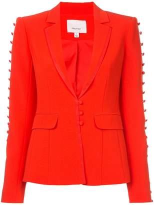 Cinq à Sept button embellished fitted blazer