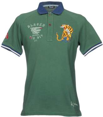 Blauer Polo shirts