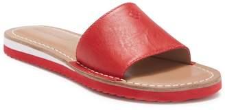Bernardo Emily Leather Slide Sandal