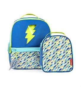 Skip Hop Kindergarten Lightning Backpack Set