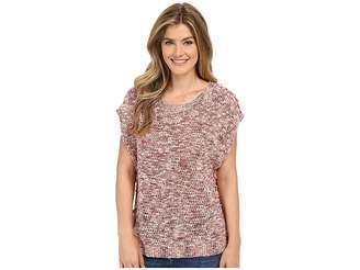 Lucky Brand Marled Pullover Women's Clothing