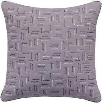 Splendid Home Decor Zigzag Stitch Accent Pillow