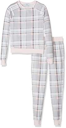 New Look 915 Girl's 3859049 Pyjama Sets, (Grey Pattern), Large