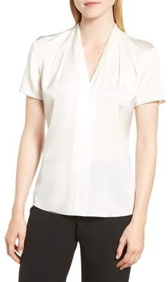 BOSS Insina Stretch Silk Blouse