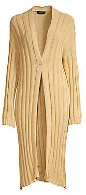 Theory Women's Wide Ribbed Kimono Cardigan