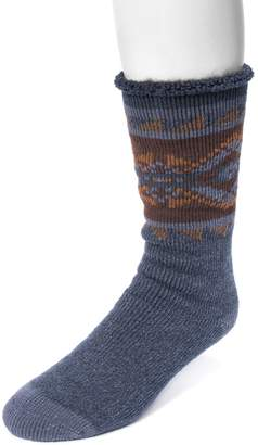 Muk Luks Men's Heat-Retainer Socks