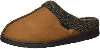 ebe8ece6605 at Amazon.com · Dearfoams Men s Microsuede Clog with Whipstitch in Wide  Width Slipper