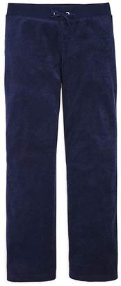Juicy Couture Black Label Girls' Microterry Lounge Pants - Big Kid