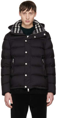 Burberry Black Down Hartley Jacket