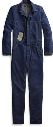 Ralph Lauren Cotton-Linen Denim Coverall