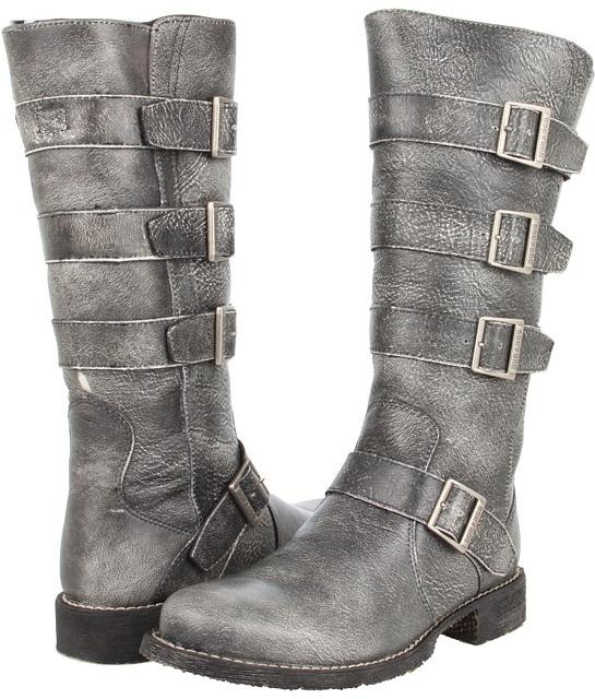 Durango Savannah Side Buckle (Charcoal) - Footwear