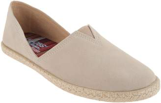 Skechers BOBS Suede Espadrille Slip On Shoes - Day 2 Nite