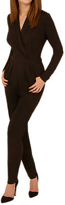 Josie Sugarhill Brighton Wrap Jumpsuit, Black