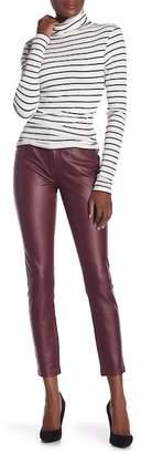 Seven7 Coated Pointe Knit Skinny Leg Pants