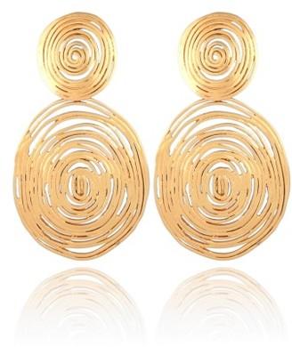 Women's Gas Bijoux 'Wave' Double Drop Earrings $173 thestylecure.com
