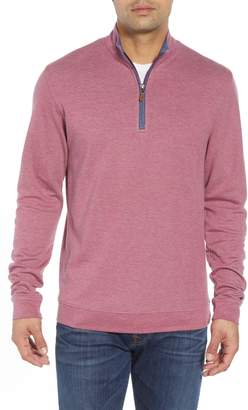 johnnie-O Sully Quarter Zip Pullover