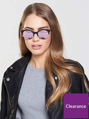 Kate Spade Kaileen Sunglasses - Black/White