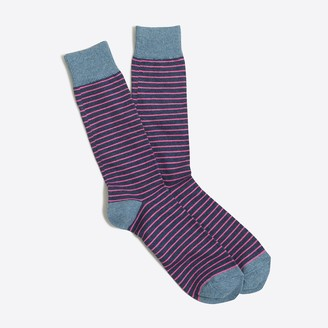 J.Crew Microstripe socks