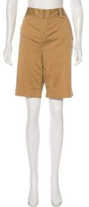 Lauren Ralph Lauren High-Rise Knee-Length Shorts