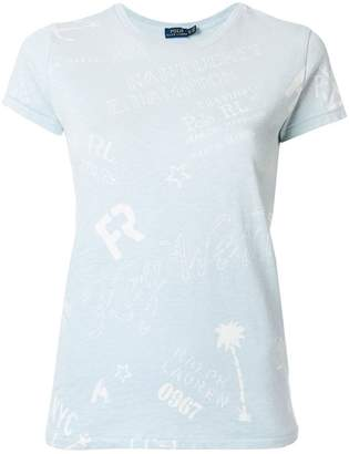 Polo Ralph Lauren nautical motif T-shirt