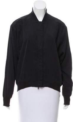 Paper Denim & Cloth Knit-Trimmed Lightweight Jacket w/ Tags