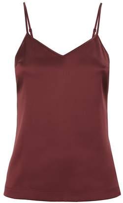 La Perla Silk Reward Bordeaux Silk Camisole