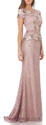 JS Collections Lace Gown