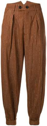 Polder Theo tapered trousers