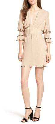 Chloé THE EAST ORDER Plunge Minidress