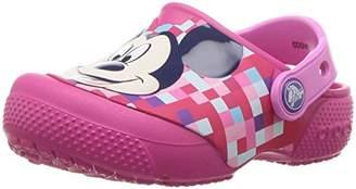 Crocs (クロックス) - [クロックス] クロッグ クロックス ファン ラブ ミッキー クロッグ キッズ 204708 candy pink C6(14 cm)