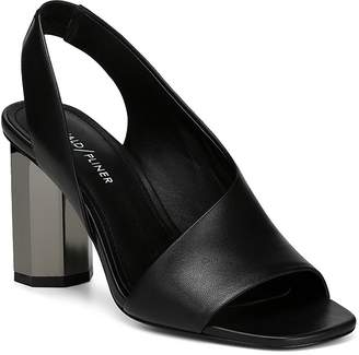 Donald J Pliner Women's Ella Leather Column Heel Sandals