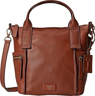 Fossil Emerson Medium Satchel Bag $198 thestylecure.com