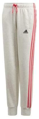 adidas Girl's Essentials 3-Stripes Track Pants