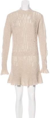 Theyskens' Theory Wool Sweater Dress