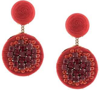 Rebecca De Ravenel Swarovski drop earrings