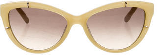 Chloé  Chloé Cat-Eye Gradient Lens Sunglasses