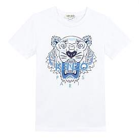 Kenzo Blue Tiger T-Shirt Perm (2-12 Years)