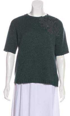 Brunello Cucinelli Embroidered Cashmere Sweater