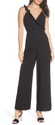 Keepsake the Label Forget You Plunging Sleeveless Jumpsuit