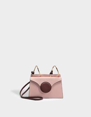 Lente Danse Mini Phoebe Bag in Pink Italian Calfskin