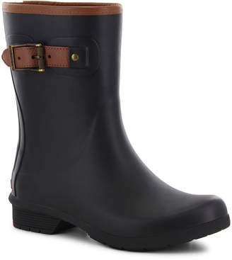 Western Chief Bainbridge Chelsea Womens Waterproof Fleece Lined Rain Boots Wide