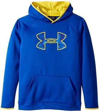 Under Armour Kids Armour Fleece Big Logo Hoodie Boy's Sweatshirt