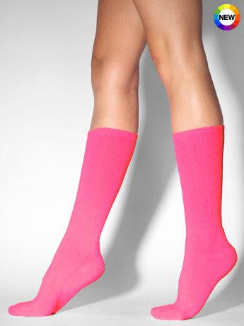 Unisex Solid Knee-High Sock